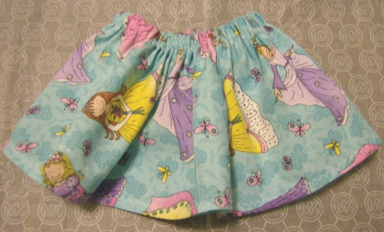 Blue Princess Skirt