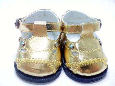 Gold Lil Pop Star Shoe
