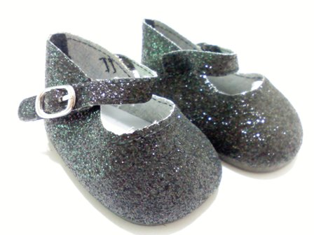 Black Sparkle Shoes