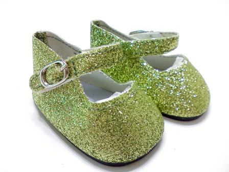 Green Sparkle Shoes