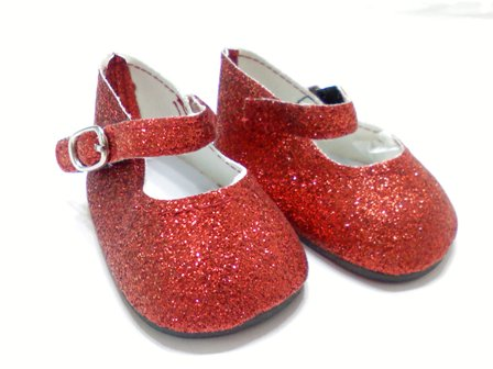 Red Sparkle Shoes