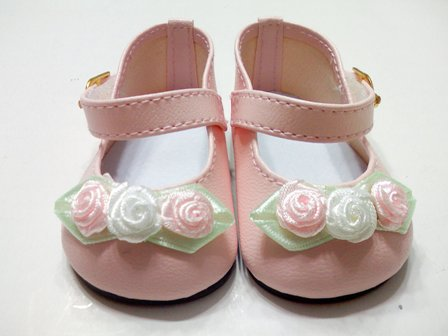 Pink Rose Toed Shoes