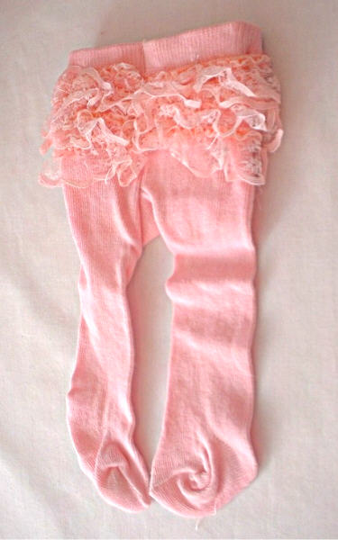 Pink Bitty Baby Rumba Tights