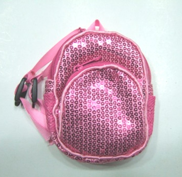 Pink BLING Sequin Backpack