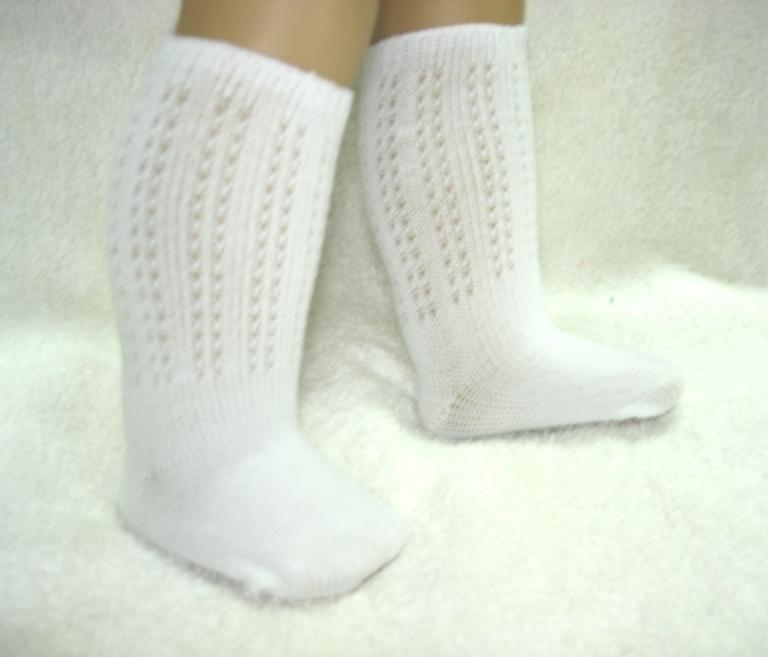Irish Dance White Sock