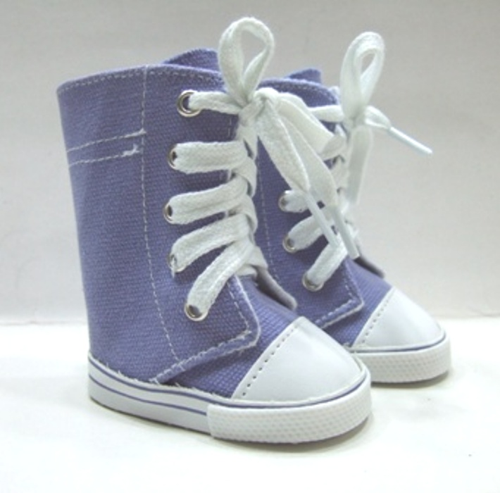 Knee High Lavender Sneaker Boot