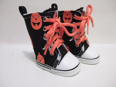 Halloween Pumpkin Tennis Shoes