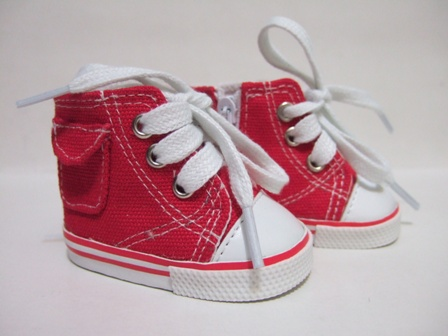 Red Pocket Tennis Shoes