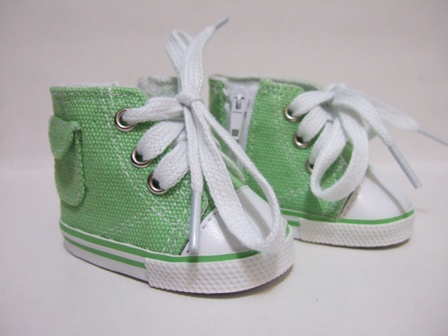 Green Pocket Tennis Shoes