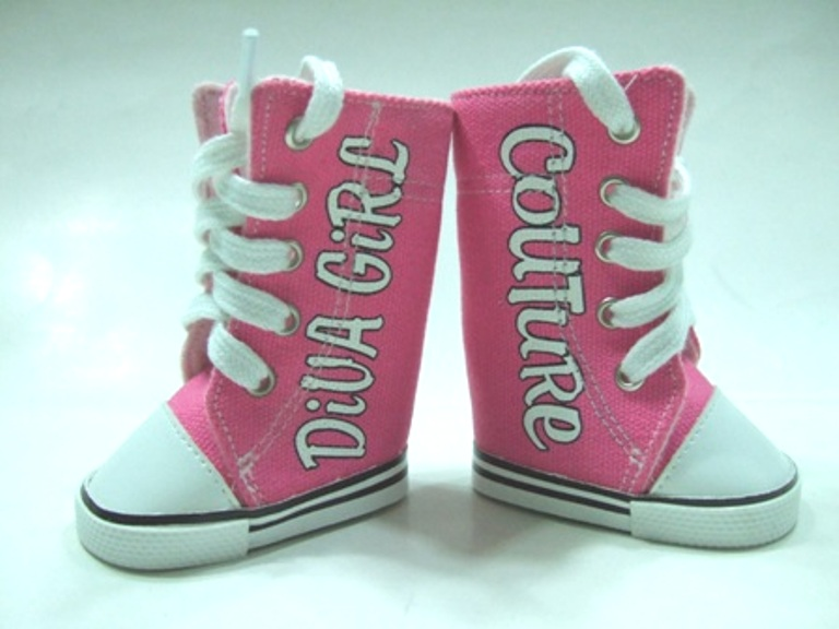Diva Girl Couture Tennis Shoes