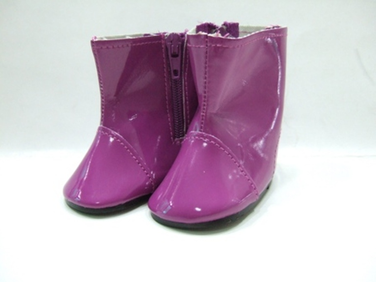 Purple Colored Rain Boot