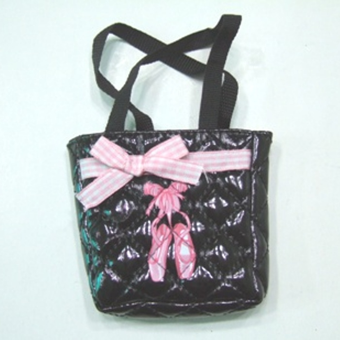 Black Ballet Slipper Bag