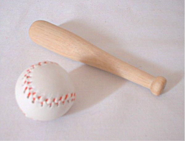 Baseball and Bat B326