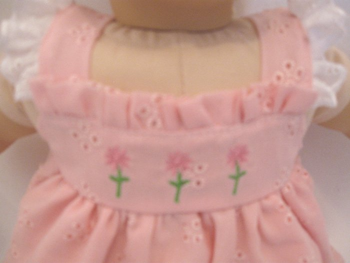 Bitty Baby Pink Dress and Pant Set