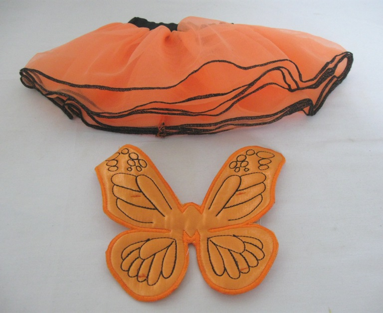 Orange Butterfly Costume