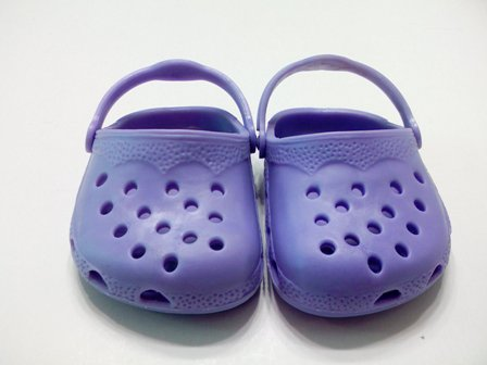 Purple Garden Clogs