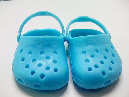 Turquoise Garden Clogs