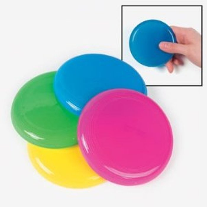 Solid Color Flying Disks