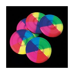 Mini Rainbow Flying Disks