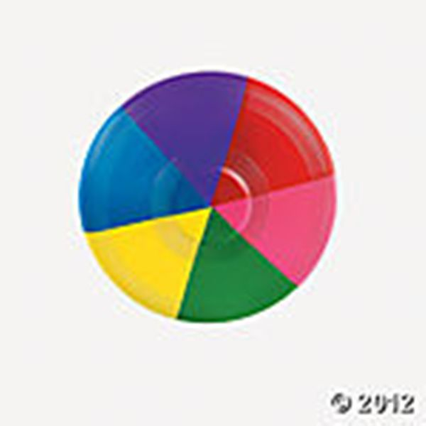 Mini Rainbow Flying Disks