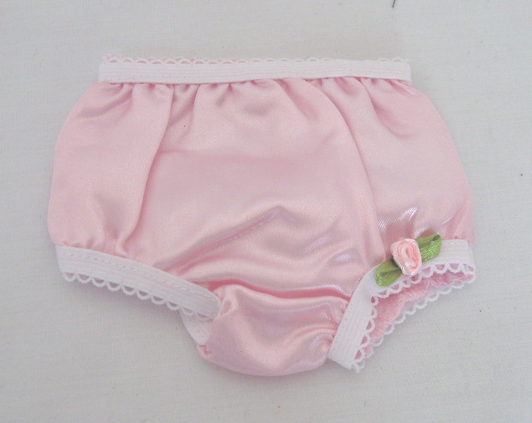 Pink Satin Underpant