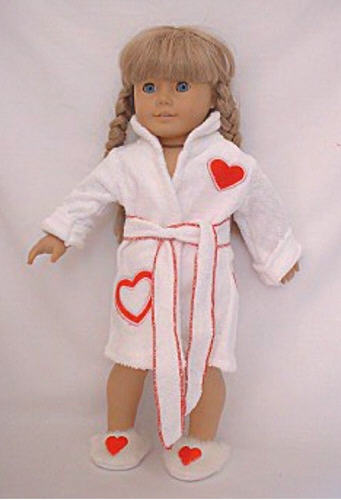 Red Heart Bathrobes