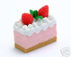 Strawberry Princess Cake Slice