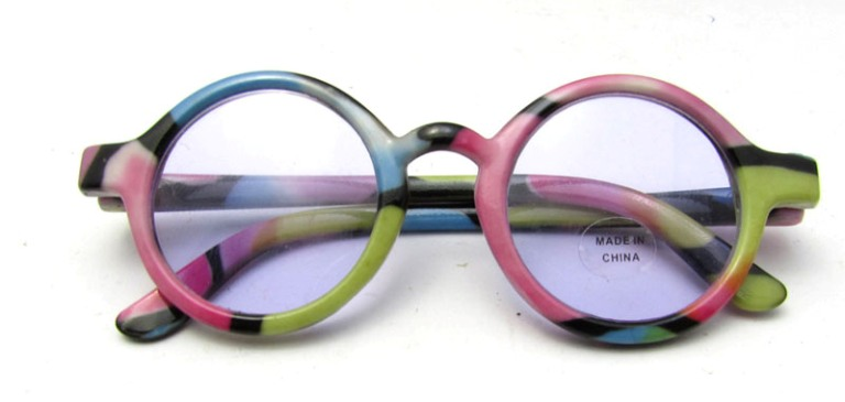 Pastel Rainbow Frame Glasses