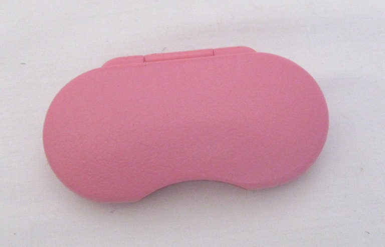 Pink Doll Glasses Case