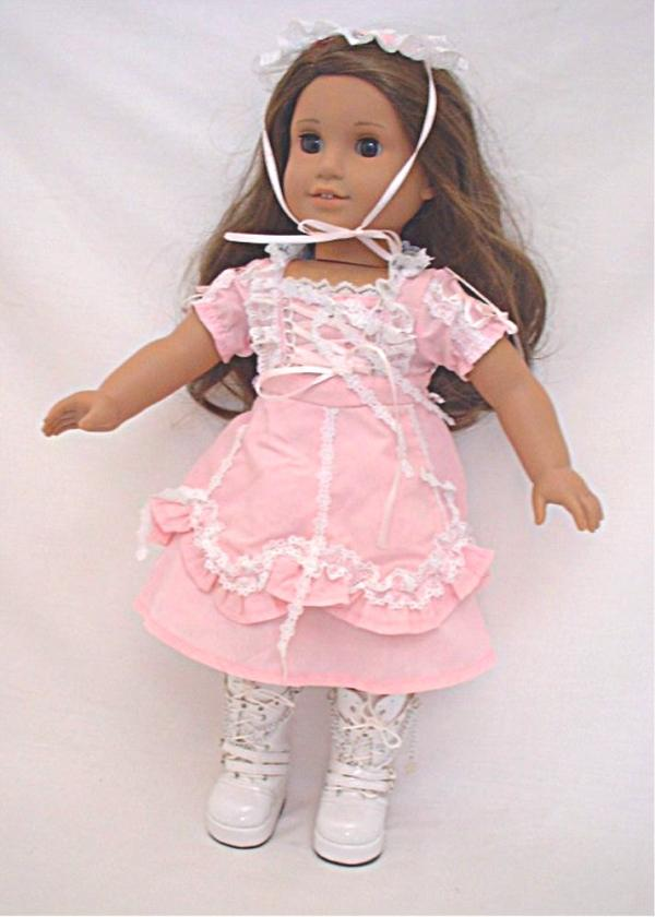 SALE Lacy Pink Lolita Dress