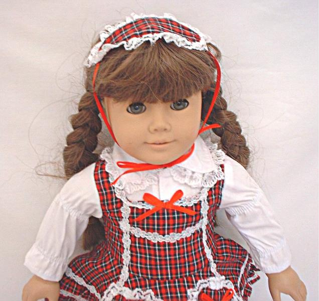 SALE Red Plaid Lolita Dress