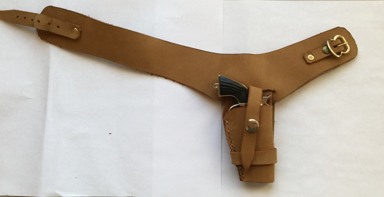 Tan Hand Made Leather Holster