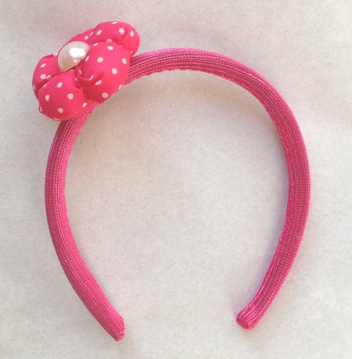 Pink Dot Head Band