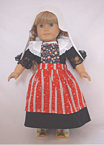 Isle Of Marken Dutch Dress