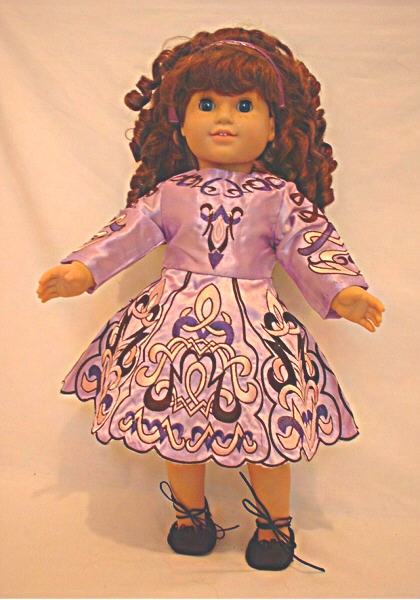 Lavender Irish Dance Dress