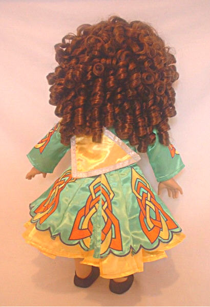 Green Irish Dance Dress