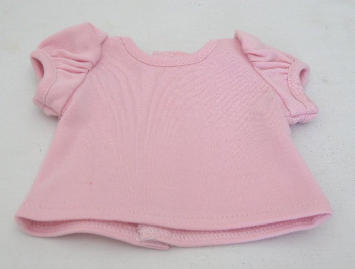 Pink Puff Sleeve T-Shirt