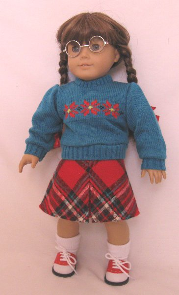 Snowflake Sweater and Skirt Set