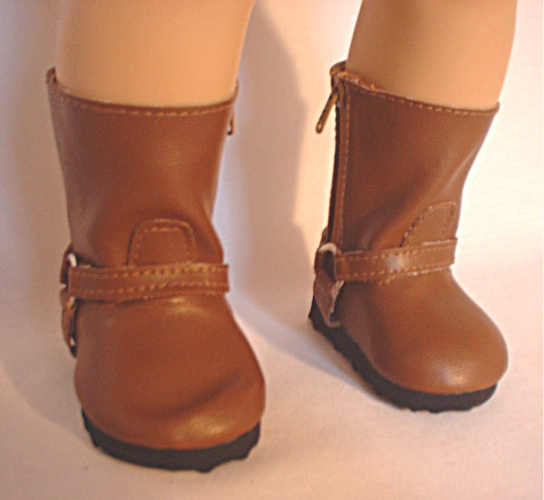 Brown Harness Boot