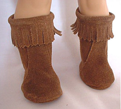 Brown Moccasin Boot