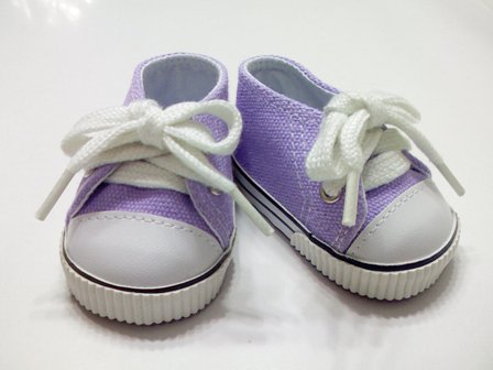 Purple Low Cut Sneaker
