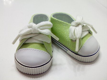 Lime Green Low Cut Sneaker
