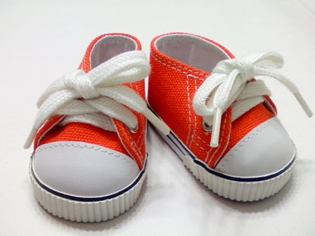 Orange Low Cut Sneaker