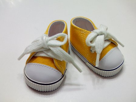 Yellow Low Cut Sneaker