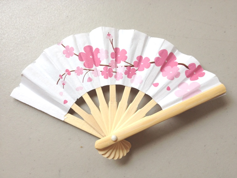 Cherry Blossom Fan