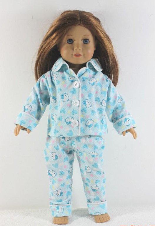 Blue Hello Kitty Pajamas