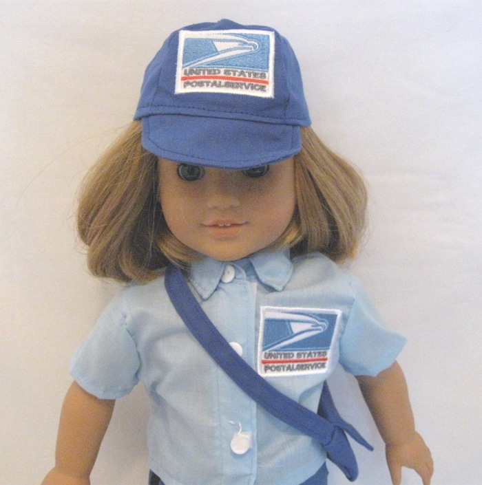 4 PC US Mail Postal Uniform