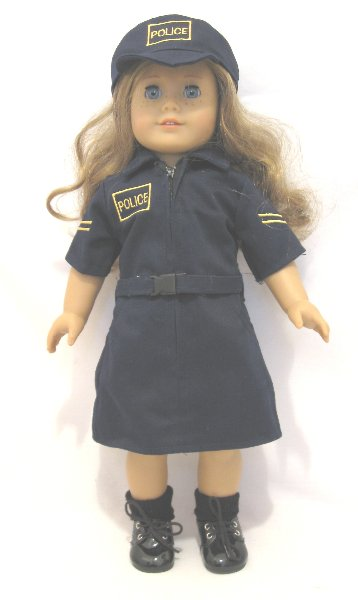 Police Girl Uniform