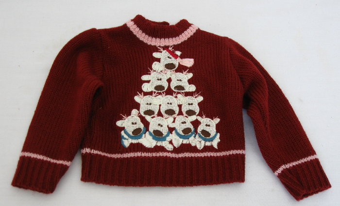 Reindeer Pile Sweater