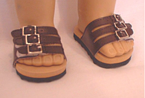 Brown Euro Sandal